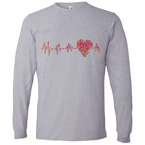 ECG Heart 949 Lightweight LS T-Shirt