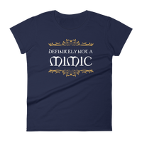 Definitely Not a Mimic Women's RPG Shirt - Dungeon Armory - Tabletop RPG Shirt Dungeons & Dragons T-Shirt Pathfinder RPG T-Shirt