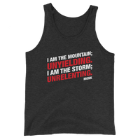 Unyielding and Unrelenting Monk Unisex RPG Tank Top - Dungeon Armory - Tabletop RPG Shirt Dungeons & Dragons T-Shirt Pathfinder RPG T-Shirt