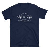 Dungeons and Dragons Shirt - Give the Gift of Life - Necromancer Unisex DnD T-Shirt - DnD Shirts Dungeon Armory