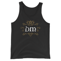 DM Game Master Unisex RPG Tank Top - Dungeon Armory - Tabletop RPG Shirt Dungeons & Dragons T-Shirt Pathfinder RPG T-Shirt