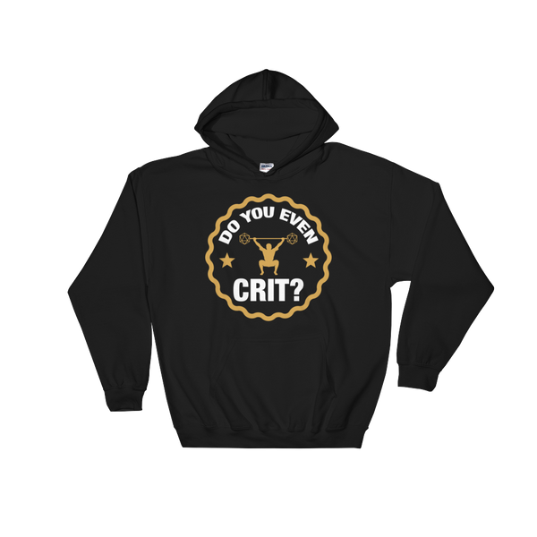 Do You Even Crit Meme RPG Hoodie - Dungeon Armory - Tabletop RPG Shirt Dungeons & Dragons T-Shirt Pathfinder RPG T-Shirt