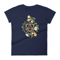 Polyhedral D20 Dice of The Druid Women's RPG Shirt - Dungeon Armory - Tabletop RPG Shirt Dungeons & Dragons T-Shirt Pathfinder RPG T-Shirt