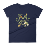 Druid's D20 Dice Women's RPG Shirt - Dungeon Armory