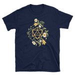 Polyhedral D20 Dice of The Druid Unisex RPG Shirt