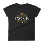 Dungeons and Dragons Shirt - Monk Emblem Women's RPG Shirt - DnD Shirts Dungeon Armory