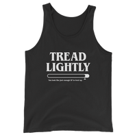 Dungeons and Dragons Shirt - Tread Lightly Meme Unisex RPG Tank Top - DnD Shirts Dungeon Armory