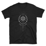 Dungeons and Dragons Shirt - D20 Dice with Geometric Symbols Unisex RPG Shirt - DnD Shirts Dungeon Armory