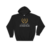 Let's Do Some Damage D20 Dice Hooded Sweatshirt - Dungeon Armory - Tabletop RPG Shirt Dungeons & Dragons T-Shirt Pathfinder RPG T-Shirt