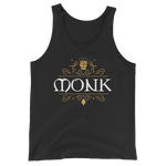 Dungeons and Dragons Shirt - Monk Emblem Unisex Tank Top - DnD Shirts Dungeon Armory