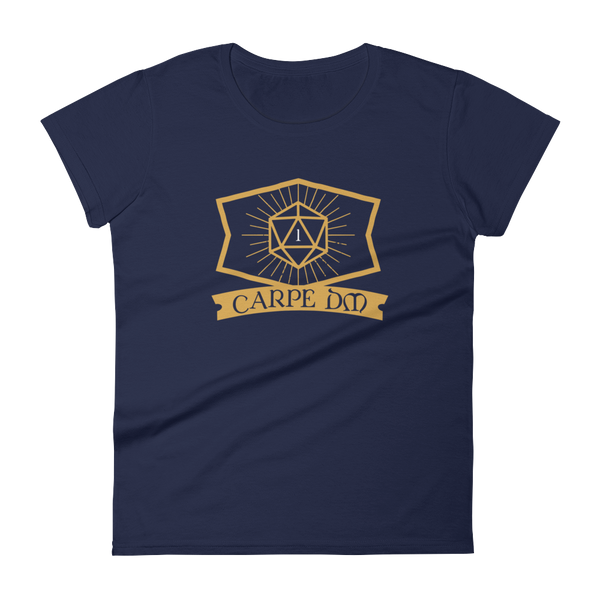 Dungeons and Dragons Shirt - Carpe DM Women's Dungeon Master Women's RPG Shirt - DnD Shirts Dungeon Armory