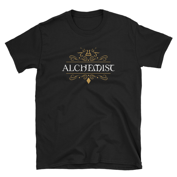 Dungeons and Dragons Shirt - Alchemist Character Class Unisex Pathfinder T-Shirt - DnD Shirts Dungeon Armory