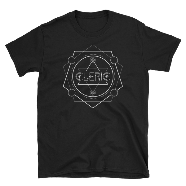 Dungeons and Dragons Shirt - Cleric Minimalist Emblem Unisex RPG Shirt - DnD Shirts Dungeon Armory