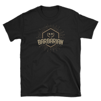 Barbarian Character Class Emblem Unisex RPG Shirt - Dungeon Armory - Tabletop RPG Shirt Dungeons & Dragons T-Shirt Pathfinder RPG T-Shirt