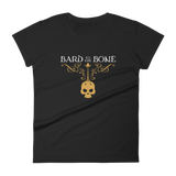 Dungeons and Dragons Shirt - Bard to the Bone Women's RPG Shirt - DnD Shirts Dungeon Armory