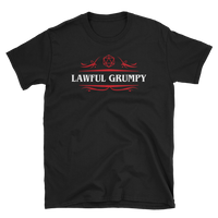 Lawful Grumpy Alignment Unisex RPG Shirt - Dungeon Armory - Tabletop RPG Shirt Dungeons & Dragons T-Shirt Pathfinder RPG T-Shirt