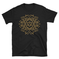Dungeons and Dragons Shirt - D20 Dice Monogram Design Unisex RPG Shirt - DnD Shirts Dungeon Armory