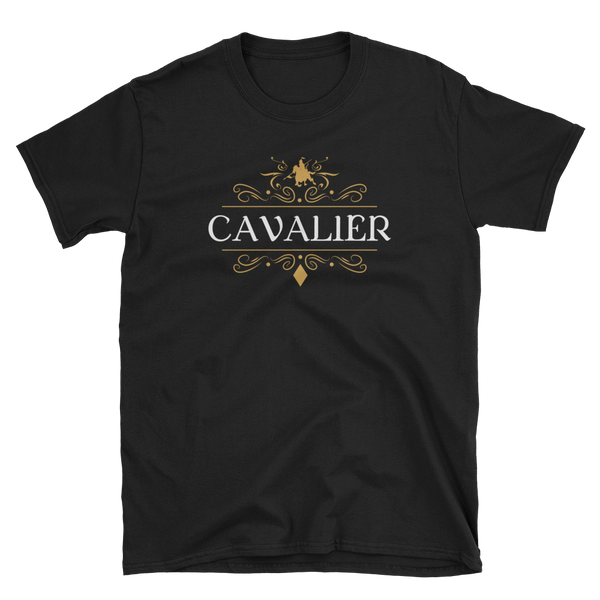 Cavalier Character Class Unisex Pathfinder T-Shirt - Dungeon Armory - Tabletop RPG Shirt Dungeons & Dragons T-Shirt Pathfinder RPG T-Shirt