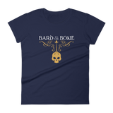Bard to the Bone Women's RPG Shirt - Dungeon Armory - Tabletop RPG Shirt Dungeons & Dragons T-Shirt Pathfinder RPG T-Shirt