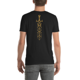Gold Dice Sword RPG Shirt - Custom Listing for Nick - Dungeon Armory - Tabletop RPG Shirt Dungeons & Dragons T-Shirt Pathfinder RPG T-Shirt