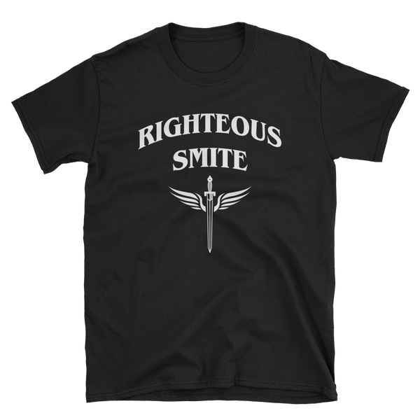 Righteous Smite Paladin Unisex RPG Shirt - Dungeon Armory - Tabletop RPG Shirt Dungeons & Dragons T-Shirt Pathfinder RPG T-Shirt