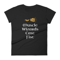 Dungeons and Dragons Shirt - Muscle Wizards Cast Fist - DnD Shirts Dungeon Armory