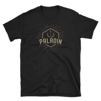 Paladin Character Class Emblem Unisex RPG Shirt - Dungeon Armory - Tabletop RPG Shirt Dungeons & Dragons T-Shirt Pathfinder RPG T-Shirt
