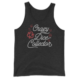 Crazy Dice Collector - Red Dice Set - Unisex RPG Tank Top