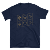 Dungeons and Dragons Shirt - Bronze Polyhedral Dice Set RPG Shirt - DnD Shirts Dungeon Armory
