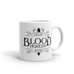 Dungeons and Dragons Shirt - Blood Hunter Emblem White Ceramic D&D Mug - DnD Shirts Dungeon Armory