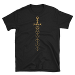Bronze Dice Sword Unisex RPG Shirt - Dungeon Armory - Tabletop RPG Shirt Dungeons & Dragons T-Shirt Pathfinder RPG T-Shirt