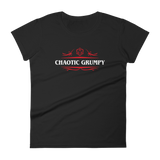 Chaotic Grumpy Alignment Women's RPG Shirt - Dungeon Armory - Tabletop RPG Shirt Dungeons & Dragons T-Shirt Pathfinder RPG T-Shirt