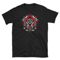 Polyhedral D20 Dice Mech Unisex RPG Shirt - Dungeon Armory - Tabletop RPG Shirt Dungeons & Dragons T-Shirt Pathfinder RPG T-Shirt