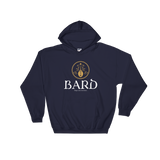 Dungeons and Dragons Shirt - Bard Alternate Emblem Hooded Sweatshirt - DnD Shirts Dungeon Armory