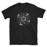 Boho Polyhedral D20 Dice Unisex RPG Shirt - Dungeon Armory - Tabletop RPG Shirt Dungeons & Dragons T-Shirt Pathfinder RPG T-Shirt