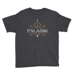 Paladin Youth Short Sleeve T-Shirt - Dungeon Armory - Tabletop RPG Shirt Dungeons & Dragons T-Shirt Pathfinder RPG T-Shirt