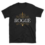 Rogue Emblem Unisex RPG Shirt - Dungeon Armory - Tabletop RPG Shirt Dungeons & Dragons T-Shirt Pathfinder RPG T-Shirt