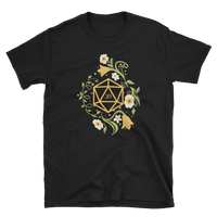 Polyhedral D20 Dice of The Druid Unisex RPG Shirt - Dungeon Armory - Tabletop RPG Shirt Dungeons & Dragons T-Shirt Pathfinder RPG T-Shirt