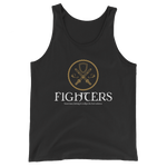 Fighters Emblem Unisex RPG Tank Top - Dungeon Armory - Tabletop RPG Shirt Dungeons & Dragons T-Shirt Pathfinder RPG T-Shirt
