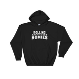 Rolling With My Homies Unisex RPG Hoodie - Dungeon Armory - Tabletop RPG Shirt Dungeons & Dragons T-Shirt Pathfinder RPG T-Shirt