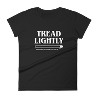 Dungeons and Dragons Shirt - Tread Lightly Meme Women's RPG Shirt - DnD Shirts Dungeon Armory