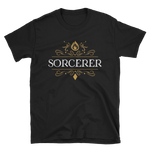 Sorcerer Emblem Unisex RPG Shirt - Dungeon Armory - Tabletop RPG Shirt Dungeons & Dragons T-Shirt Pathfinder RPG T-Shirt