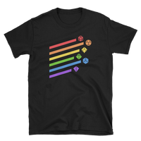 Dungeons and Dragons Shirt - Rainbow Dice Set Unisex RPG Shirt - DnD Shirts Dungeon Armory