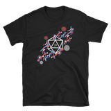 Abstract Polyhedral D20 Dice Unisex RPG Shirt - Dungeon Armory - Tabletop RPG Shirt Dungeons & Dragons T-Shirt Pathfinder RPG T-Shirt