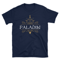 Dungeons and Dragons Shirt - Paladin Emblem Unisex RPG Shirt - DnD Shirts Dungeon Armory