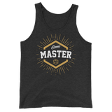 Game Master with D20 Dice Unisex Tank Top - Dungeon Armory - Tabletop RPG Shirt Dungeons & Dragons T-Shirt Pathfinder RPG T-Shirt