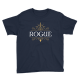 Rogue Youth Short Sleeve T-Shirt - Dungeon Armory - Tabletop RPG Shirt Dungeons & Dragons T-Shirt Pathfinder RPG T-Shirt