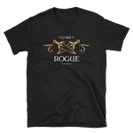 Gone Rogue - Rogues Unisex RPG Shirt - Dungeon Armory - Tabletop RPG Shirt Dungeons & Dragons T-Shirt Pathfinder RPG T-Shirt