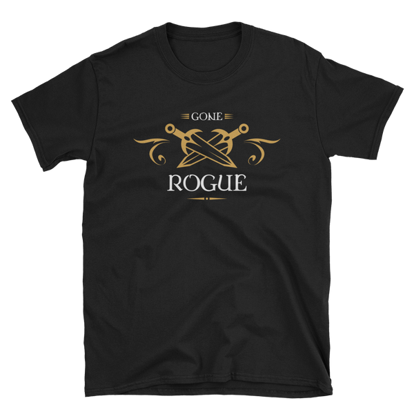 Dungeons and Dragons Shirt - Gone Rogue - Rogues Unisex RPG Shirt - DnD Shirts Dungeon Armory