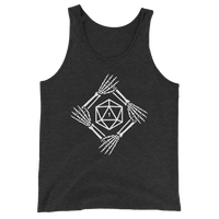 Critical Fail D20 Dice Last Minute Halloween Costume Unisex Tank Top - Dungeon Armory - Tabletop RPG Shirt Dungeons & Dragons T-Shirt Pathfinder RPG T-Shirt